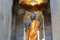 吴哥寺庙柬埔寨 免版税库存图片