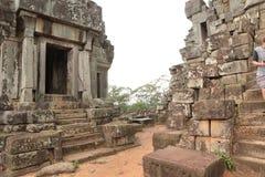 吴哥寺庙柬埔寨 免版税库存照片