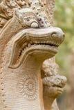 吴哥寺庙,柬埔寨雕象  库存图片