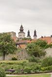 哥得兰岛的,瑞典维斯比大教堂 免版税库存图片
