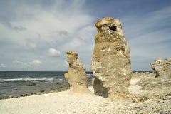 哥得兰岛 库存图片