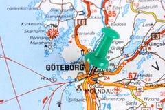 哥德堡瑞典 库存照片