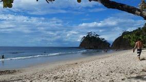哥斯大黎加的海滩 免版税图库摄影