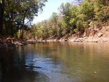 哥斯达黎加河 免版税图库摄影