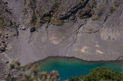 哥斯达黎加的伊拉苏火山 库存照片