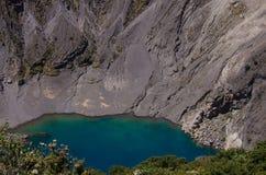 哥斯达黎加的伊拉苏火山 免版税库存图片