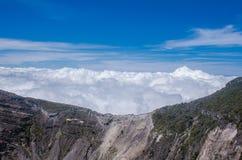 哥斯达黎加的伊拉苏火山 免版税图库摄影