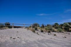 哥斯达黎加的伊拉苏火山 免版税库存照片