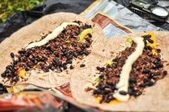 哥斯达黎加早餐 免版税库存图片