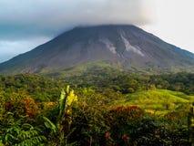 哥斯达黎加火山阿雷纳尔 免版税库存照片