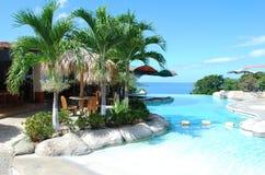 哥斯达黎加热带假期 免版税库存照片