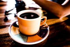哥斯达黎加的咖啡纯净的咖啡豆产业 免版税库存图片