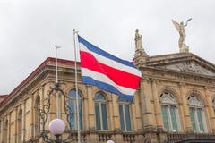 哥斯达黎加的国家戏院 免版税库存照片