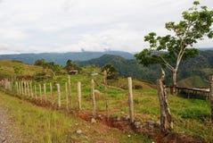 哥斯达黎加的山 免版税库存照片