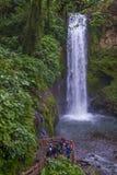 哥斯达黎加的拉巴斯瀑布 库存图片