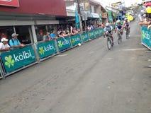 哥斯达黎加骑自行车 免版税库存图片
