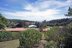 哥斯达黎加高地 库存图片