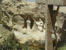 哥普特人基督教会在开罗 免版税库存图片