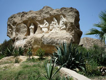 哥普特人基督教在埃及 免版税库存图片