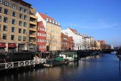 哥本哈根、丹麦、斯堪的纳维亚城市和建筑学 免版税库存图片