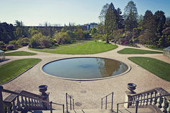 哥本哈根、ifountain和公园植物园的 免版税图库摄影