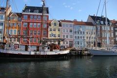 哥本哈根丹麦市大厦 免版税图库摄影