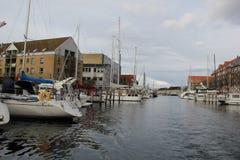 哥本哈根丹麦市大厦 库存照片