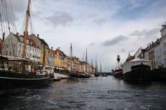 哥本哈根丹麦市大厦 免版税库存图片