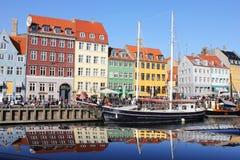 哥本哈根丹麦 免版税图库摄影