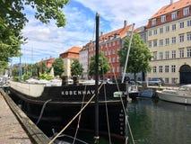 哥本哈根丹麦 库存图片
