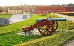 哥本哈根丹麦kastellet 免版税库存照片