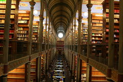 哥本哈根图书馆大学 库存照片