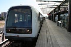 哥本哈根地铁车站 免版税库存照片