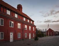 哥本哈根城堡庭院 库存图片