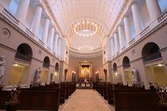 哥本哈根大教堂 图库摄影