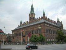 哥本哈根市政厅 免版税图库摄影