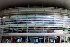 哥本哈根歌剧院玻璃2014年 免版税图库摄影