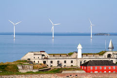 哥本哈根涡轮风 库存照片