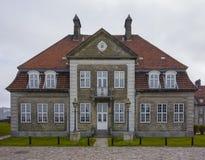 哥本哈根港口房子 图库摄影