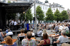哥本哈根爵士节2015年 免版税库存照片