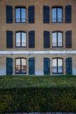 哥本哈根老房子 免版税图库摄影