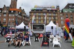 哥本哈根自豪感20年庆祝 免版税库存照片