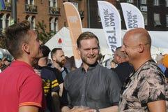 哥本哈根自豪感2017年 免版税库存图片