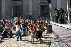 哥本哈根节日爵士乐 免版税库存图片