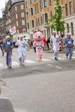 哥本哈根马拉松2013年 库存照片