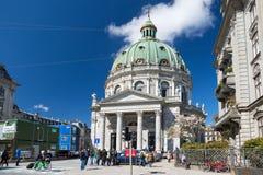 哥本哈根,丹麦- 2017年4月30日:弗雷德里克也` s教会kn 库存图片