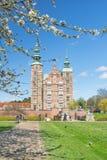 哥本哈根,丹麦- 2017年4月30日:Rosenborg宫殿是里纳 图库摄影