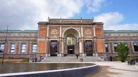 哥本哈根,丹麦- 2017年5月31日:丹麦Statens博物馆国家肖像馆的看法Kunst,亦称SMK的 免版税库存照片