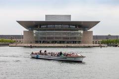 哥本哈根,丹麦- 2011年5月14日:歌剧院 库存照片