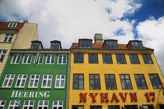 哥本哈根,丹麦- 2016年8月14日:餐馆 库存照片